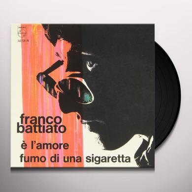 Franco Battiato E' L'AMORE / FUMO DI UNA SIGARETTA Vinyl Record
