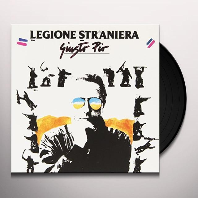 PIO GIUSTO LEGIONE STRANIERA / GIARDINO SEGRETO Vinyl Record - Italy Import