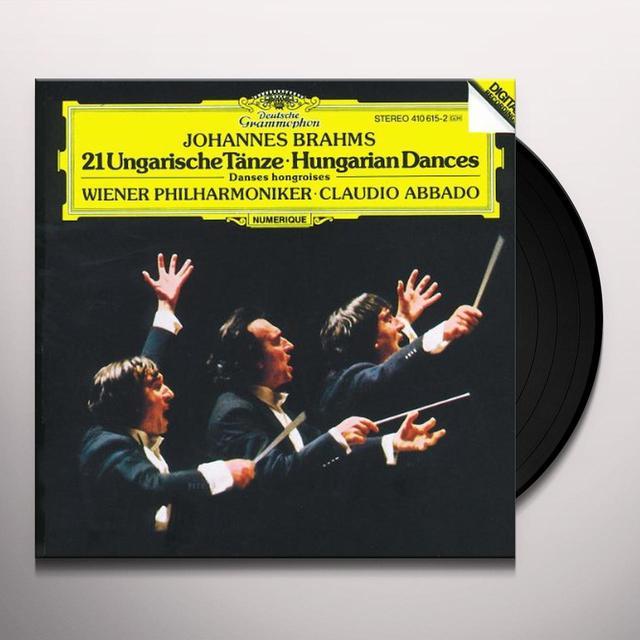 Claudio Abbado BRAHMS 21 UNGARISCHE TANZE Vinyl Record - UK Release