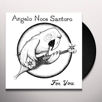 Angelo Noce Santoro FOR YOU Vinyl Record
