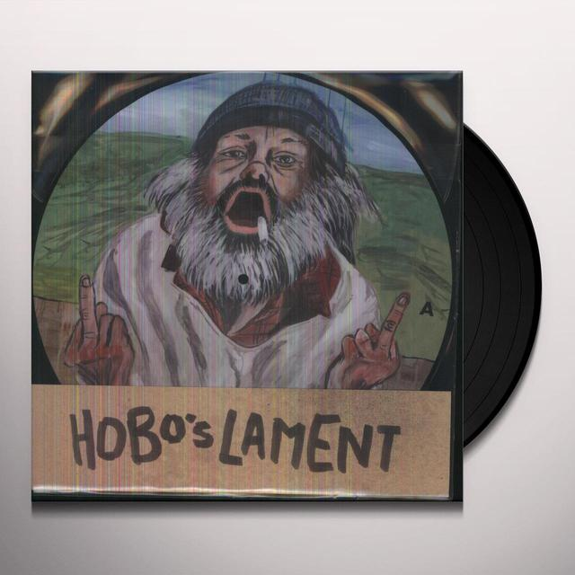 Larry and His Flask HOBOS LAMENT Vinyl Record - Picture Disc