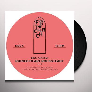 BING AUSTRIA RUINED HEART (ROCKSTEADY) Vinyl Record