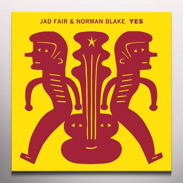 Jad Fair / Norma Blake YES Vinyl Record - Colored Vinyl