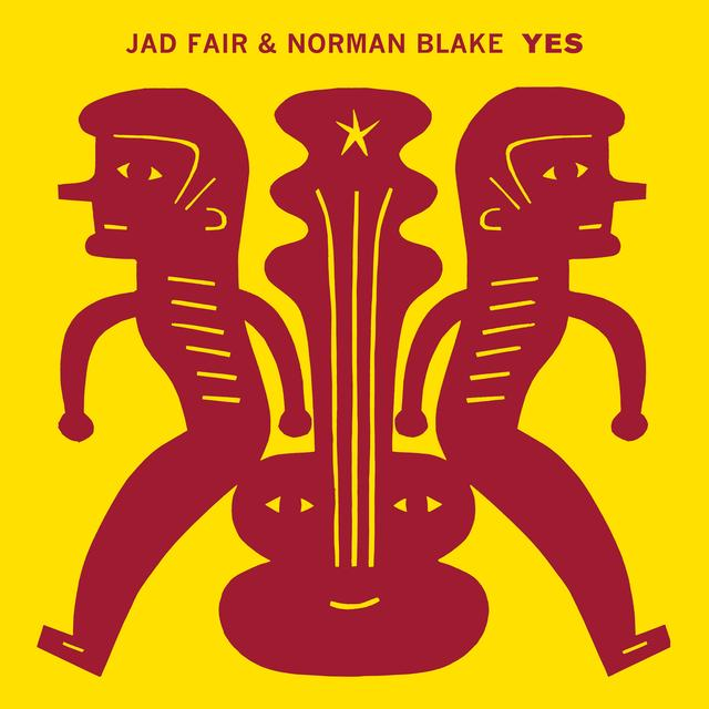 Jad Fair / Norma Blake YES Vinyl Record