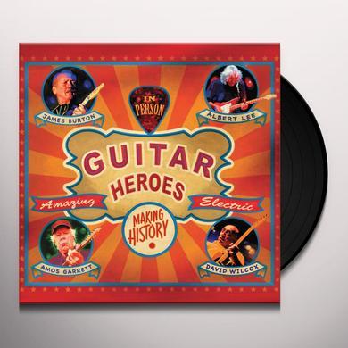James Burton / Albert Lee / Amos Garrett / Wilcox GUITAR HEROES Vinyl Record - 180 Gram Pressing, Digital Download Included