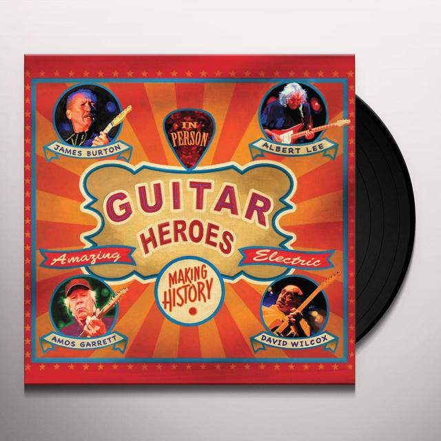 James Burton / Albert Lee / Amos Garrett / Wilcox GUITAR HEROES Vinyl Record