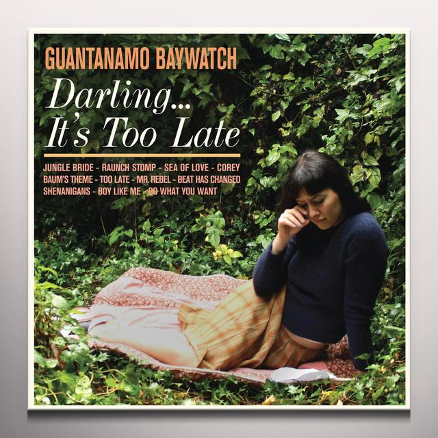 Guantanamo Baywatch DARLING IT'S TOO LATE Vinyl Record - Colored Vinyl, Digital Download Included