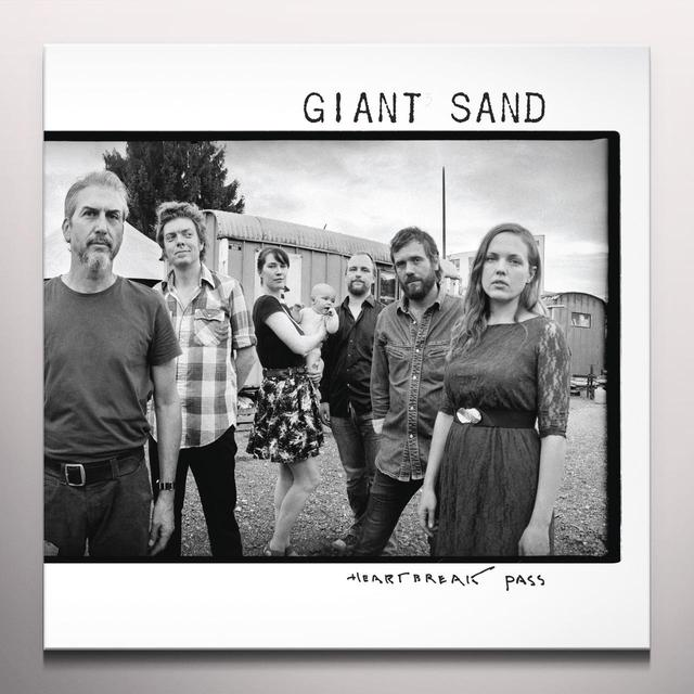 Giant Sand HEARTBREAK PASS Vinyl Record