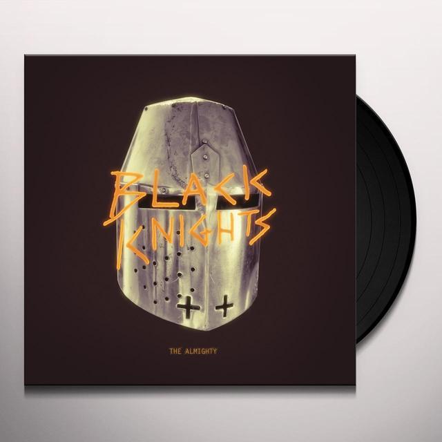 Black Knights ALMIGHTY Vinyl Record - Gatefold Sleeve, 180 Gram Pressing, Digital Download Included