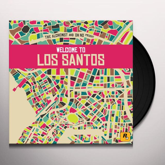 ALCHEMIST & OH NO PRESENT WELCOME TO LOS SANTOS Vinyl Record