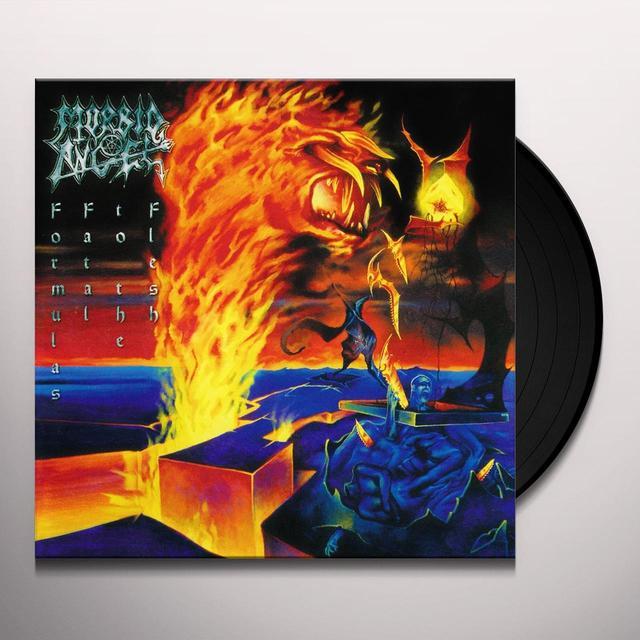 Morbid Angel FORMULAS FATAL TO THE FLESH Vinyl Record - Reissue