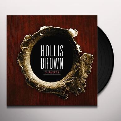 Hollis Brown 3 SHOTS Vinyl Record