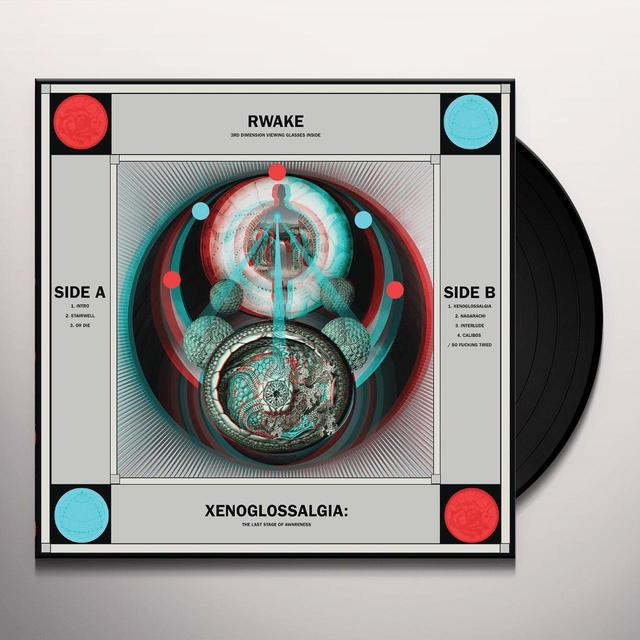 Rwake XENOGLOSSALGIA: THE LAST STAGE OF AWARENESS Vinyl Record