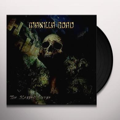 Manilla Road BLESSED CURSE / AFTER THE MUSE Vinyl Record