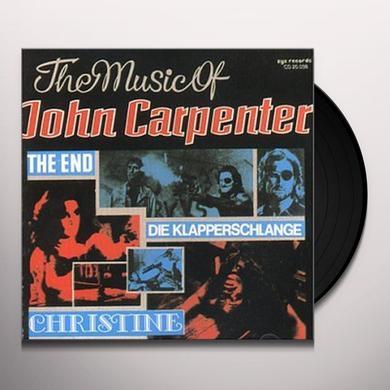SPLASH BAND (W/CD) MUSIC OF JOHN CARPENTER Vinyl Record
