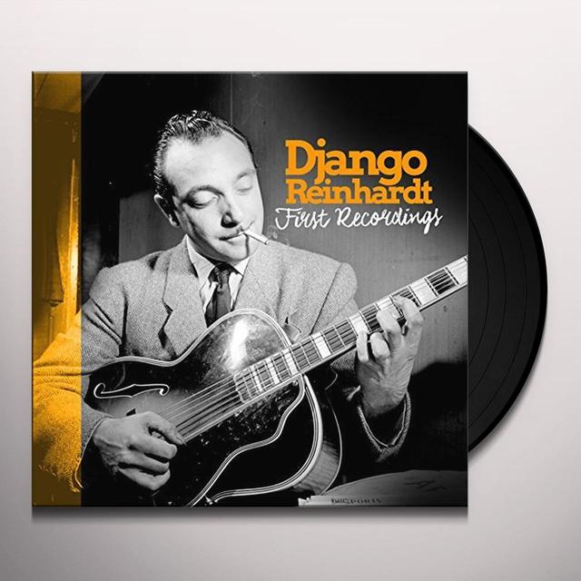 Django Reinhardt FIRST RECORDINGS Vinyl Record