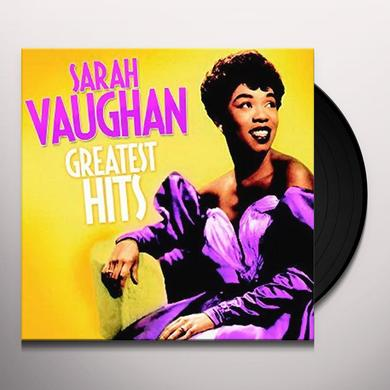 Sarah Vaughan GREATEST HITS Vinyl Record