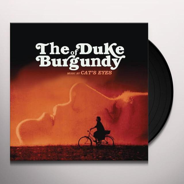 CAT'S EYES (LTD) DUKE OF BURGUNDY / O.S.T. Vinyl Record - Limited Edition