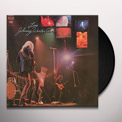 Johnny Winter LIVE Vinyl Record