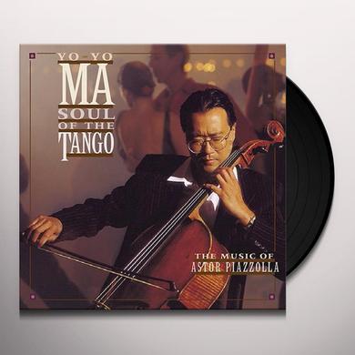 Yo-Yo Ma SOUL OF THE TANGO Vinyl Record - Holland Import