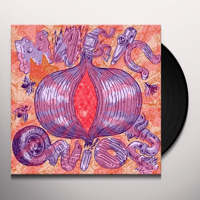 The Lovely Eggs MAGIC ONION Vinyl Record - UK Import