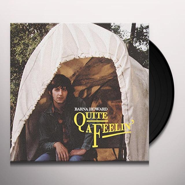 Barna Howard QUITE A FEELIN' Vinyl Record