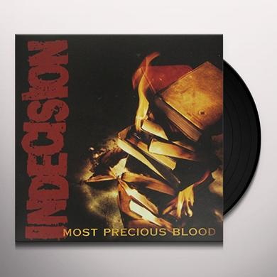 Indecision MOST PRECIOUS BLOOD Vinyl Record
