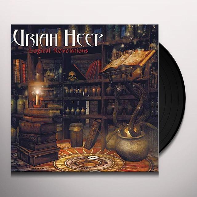 Uriah Heep LOGICAL REVELATIONS Vinyl Record - UK Release