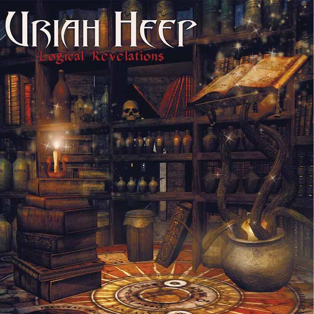 Uriah Heep LOGICAL REVELATIONS Vinyl Record - UK Import