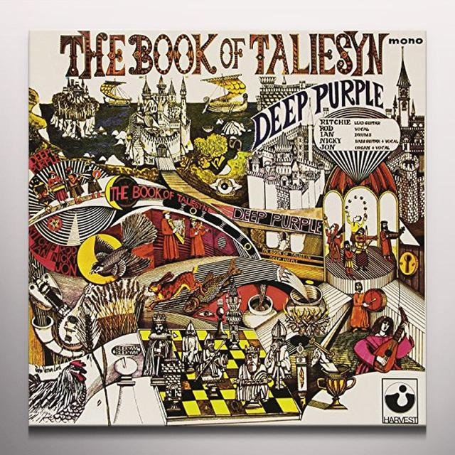 Deep Purple BOOK OF TALIESYN (WHITE VINYL) Vinyl Record - Colored Vinyl, Italy Import