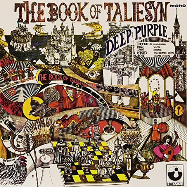 Deep Purple BOOK OF TALIESYN (WHITE VINYL) Vinyl Record