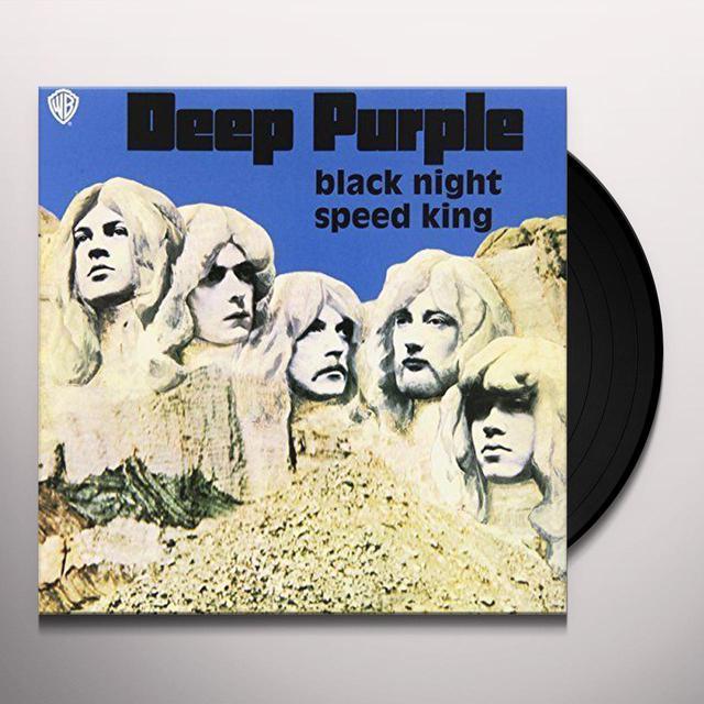 Deep Purple BLACK NIGHT / SPEED KING (BLUE VINYL) Vinyl Record
