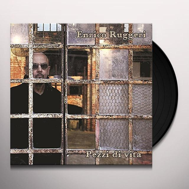 Enrico Ruggeri PEZZI DI VITA Vinyl Record - Italy Import