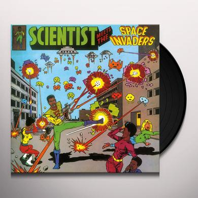 Scientist MEETS THE SPACE INVADERS Vinyl Record - Italy Release