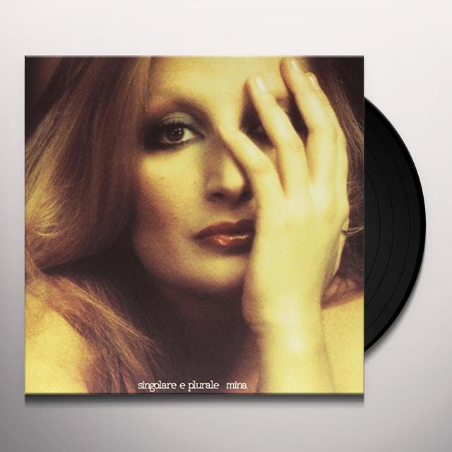 Mina SINGOLARE & PLURALE Vinyl Record - Italy Import