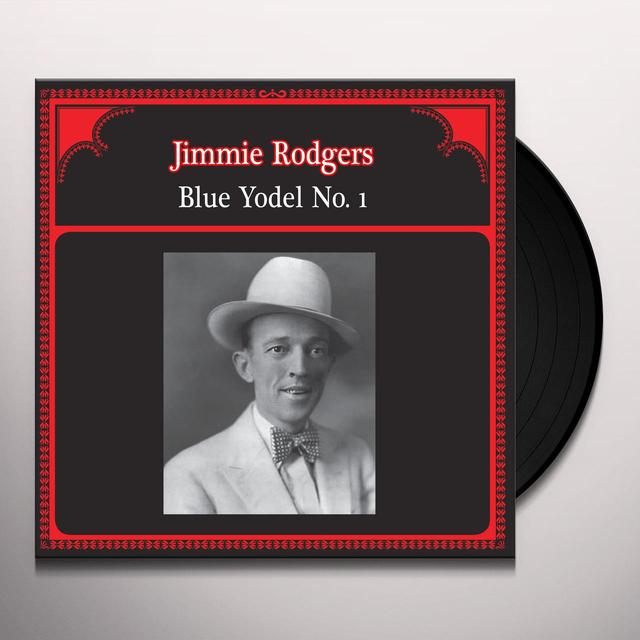 Jimmie Rodgers BLUE YODEL NO. 1 Vinyl Record - Italy Import