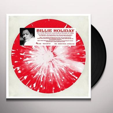 HOLIDAY BILLIE LIVE AT THE MONTEREY JAZZ FESTIVAL OCTOBER 5TH Vinyl Record