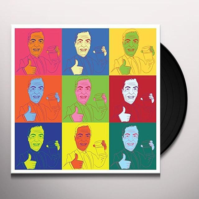 ALCOPOP RECORDS / SHIKARI SOUND SYSTEM WIT & WISDOM OF NIGEL FARAGE Vinyl Record - UK Release