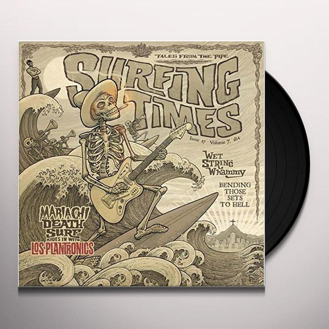 LOS PLANTRONICS SURFING TIMES Vinyl Record - UK Import