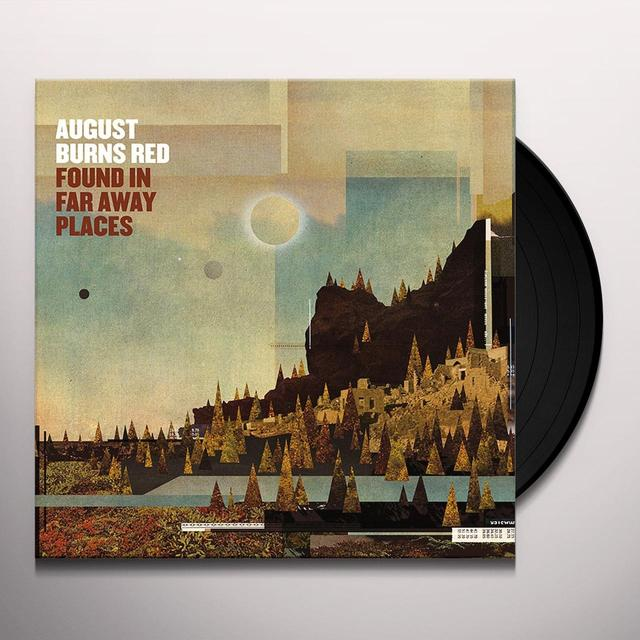 August Burns Red FOUND IN FAR AWAY PLACES Vinyl Record - UK Release