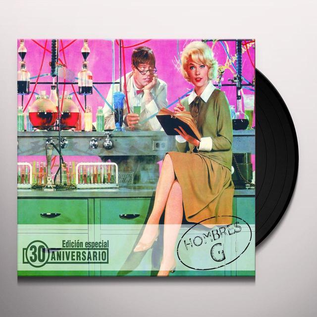 HOMBRES G REEDICION 30 ANIVERSARIO Vinyl Record - Anniversary Edition, Spain Import