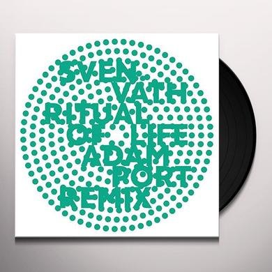 Futurhythms / Sven Vath RITUAL OF LIFE (ADAM PORT 108 MIX) Vinyl Record