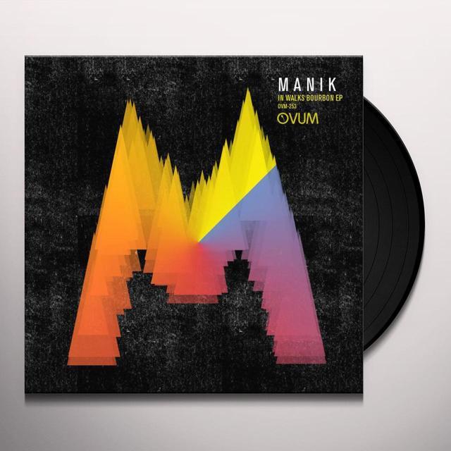 Manik IN WALKS BOURBON (EP) Vinyl Record