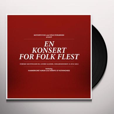 Motorpsycho EN KONSERT FOR FOLK FLEST  (W/DVD) Vinyl Record - w/CD