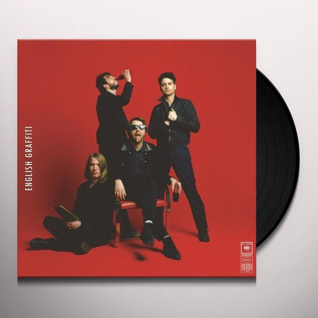 The Vaccines ENGLISH GRAFFITI Vinyl Record - w/CD, 180 Gram Pressing