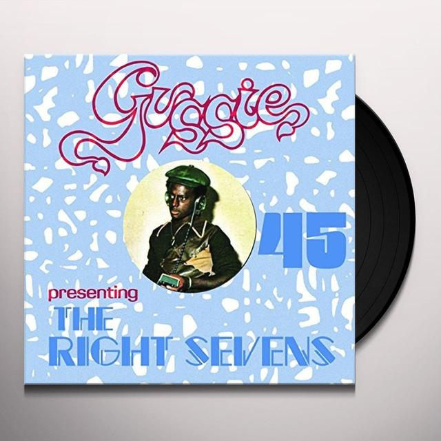 GUSSIE PRESENTING THE RIGHT TRACKS / VARIOUS GUSSIE PRESENTING THE RIGHT SEVENS / VARIOUS Vinyl Record
