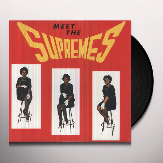 MEET THE SUPREMES Vinyl Record