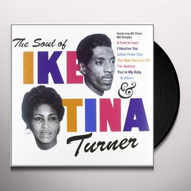 Ike & Tina Turner SOUL OF IKE & TINA Vinyl Record