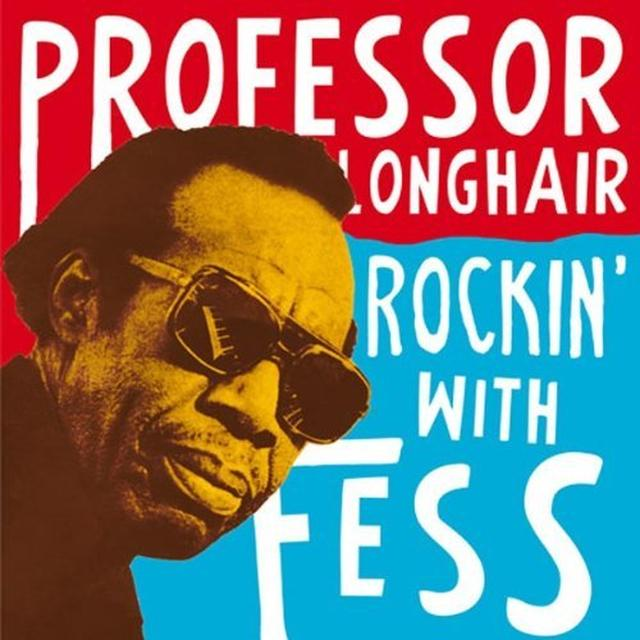 Professor Longhair ROCKIN' WITH FESS Vinyl Record