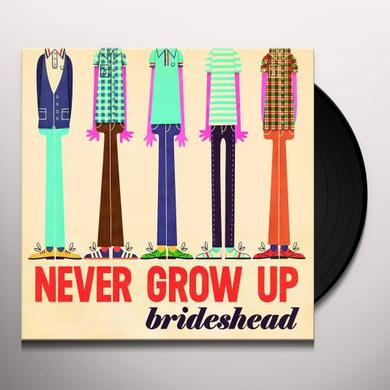 Brideshead NEVER GROW UP Vinyl Record